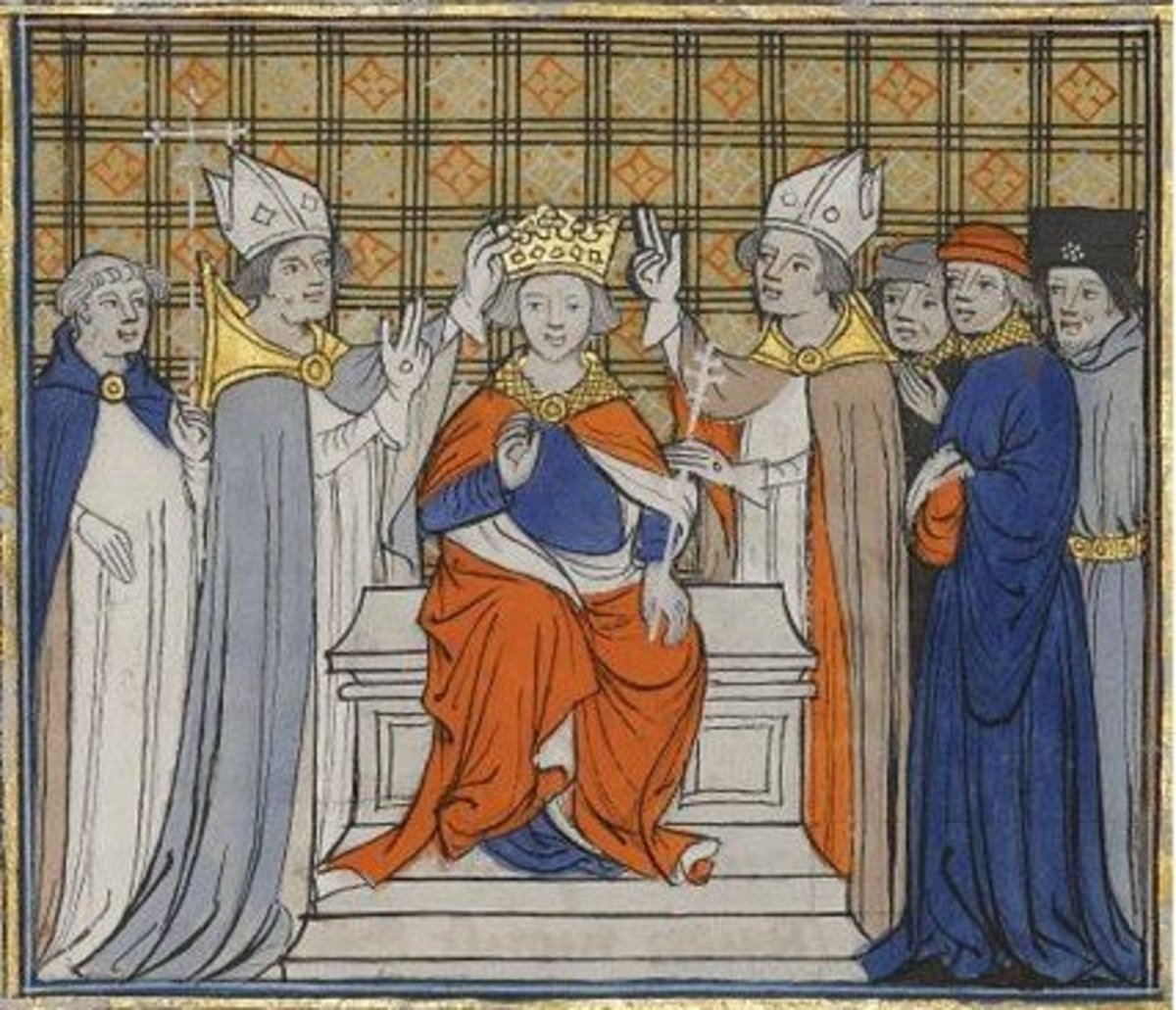 The coronation of monarchs often requires the divine blessing of clergymen.