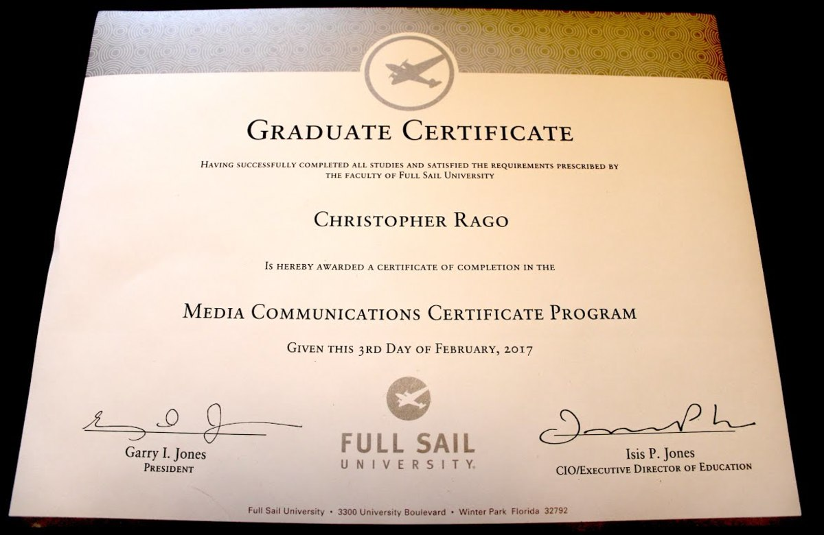 full sail creative writing program reviews Visit wwwfullsailedu selected  students can move on to an mfa in  journalism, creative writing, technical writing or professional writing doctoral  degrees.