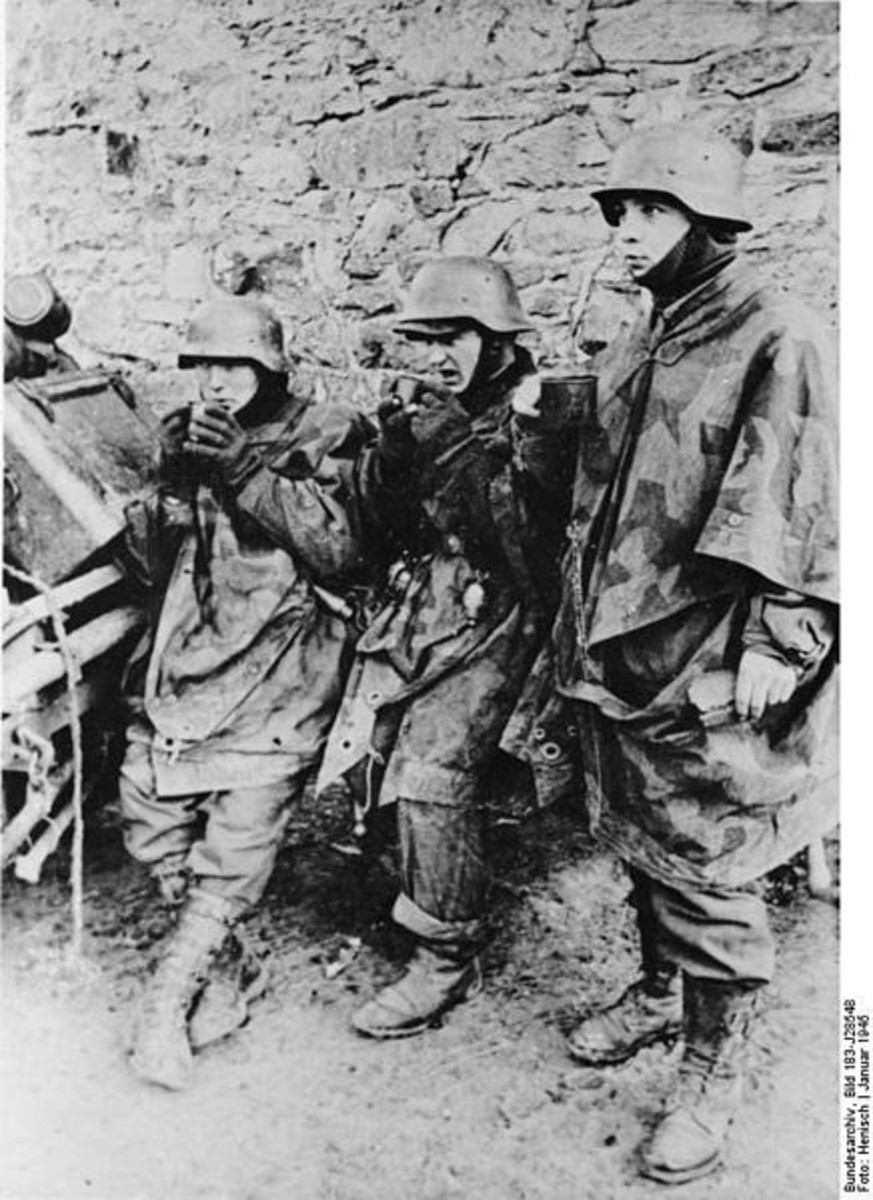 WW2: Battle of the Bulge, Young German soldiers