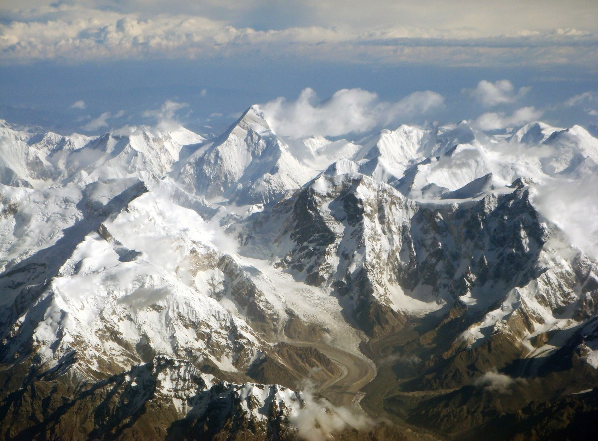 Cloud Seeding Plans - China is preparing to seed in the beautiful Tian Shan Mountains to increase snow pack.