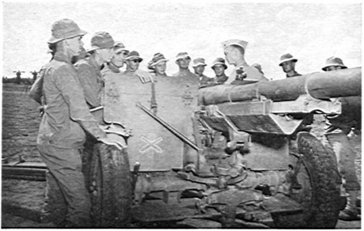 Artillery officer candidates, 1942.