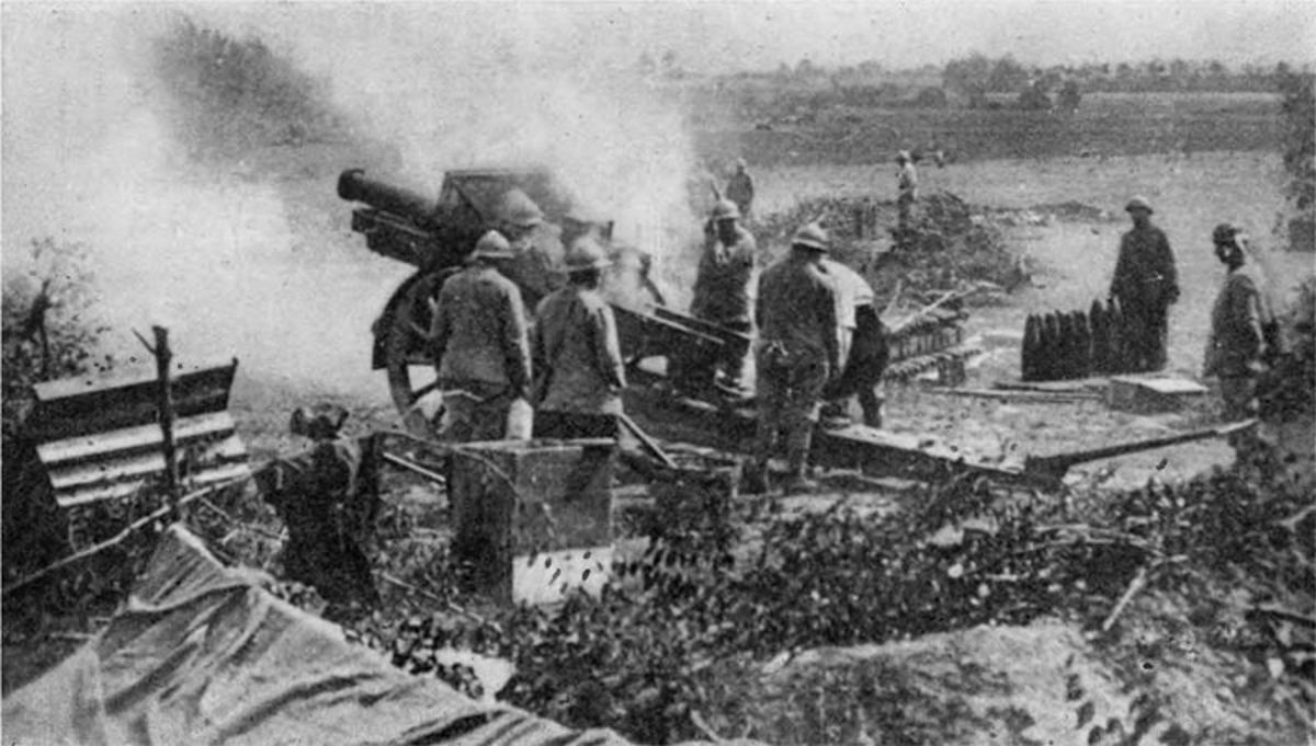 French 155mm, 1918