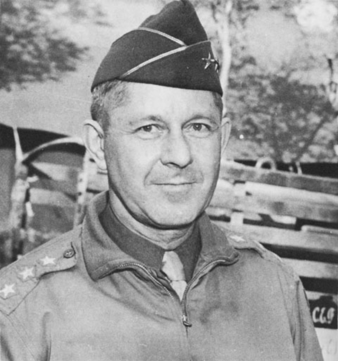 Gen. Jacob Devers. He went on to command the 6th Army Group in the last year of the war.