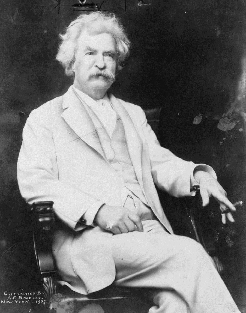 """Mark Twain used """"complected"""" instead of """"complexioned"""" in his novels and short stories."""
