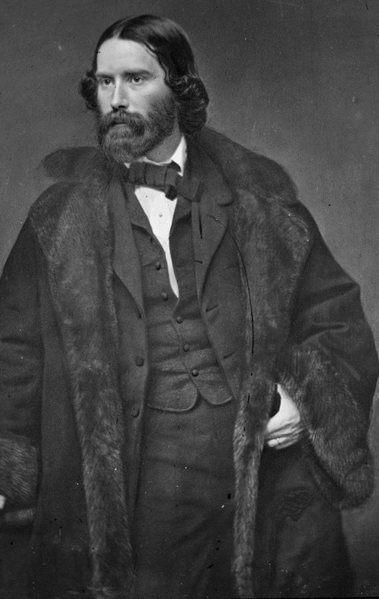 Poet James Russell Lowell also managed The Atlantic Monthly.