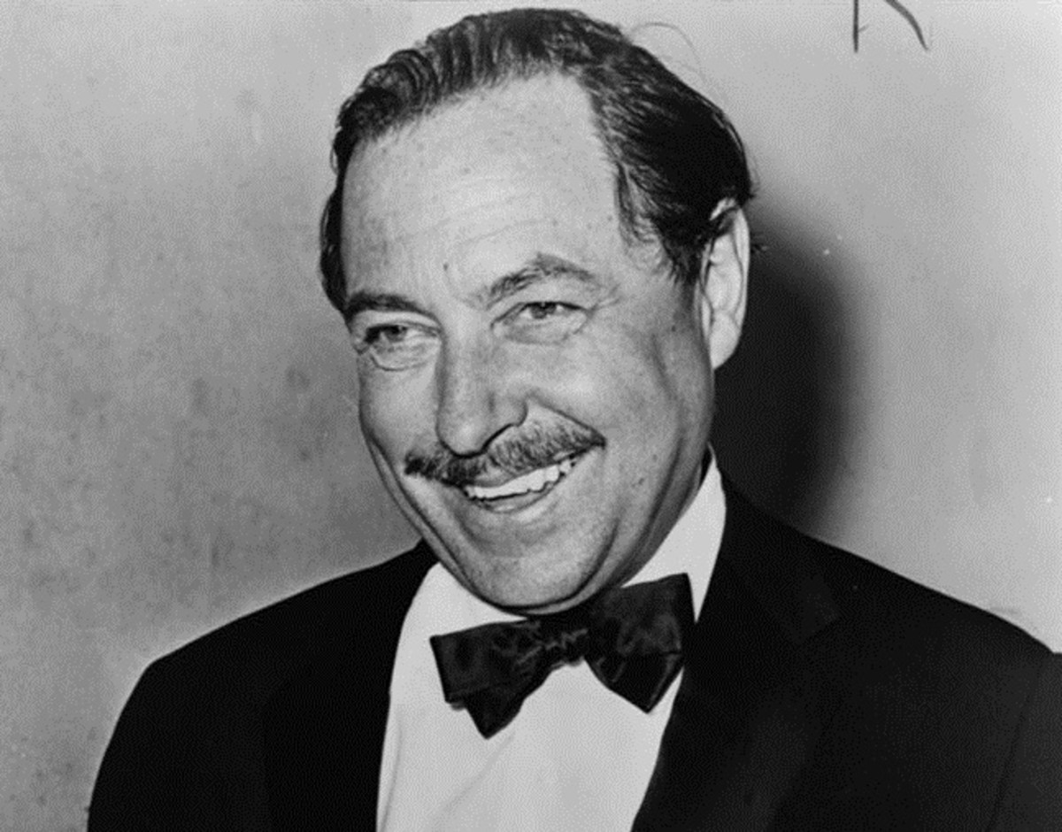 Tennessee Williams' rise to fame coincided with the first performance of The Glass Menagerie, a play that raises the use of theatrical devices to a new level in theater history.