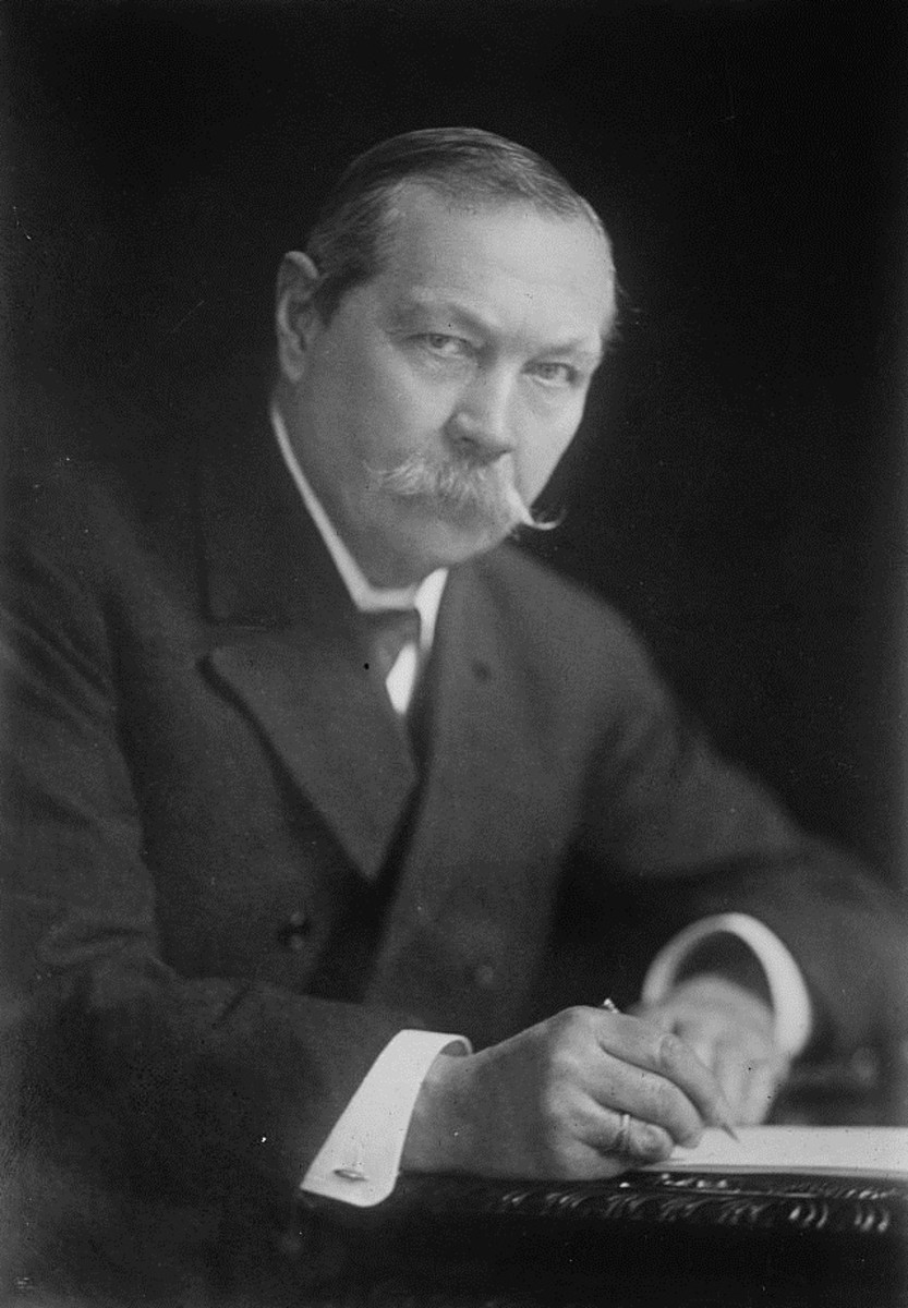 Though he allowed Sherlock Holmes to talk at length, Sir Arthur Conan Doyle never put excessively wordy phrases into Watson's mouth.