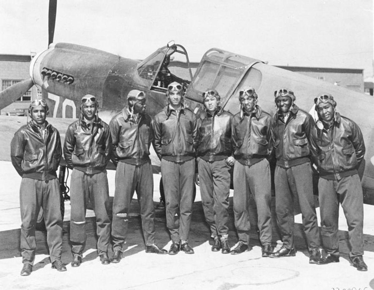 Tuskegee Airmen, 1942-43
