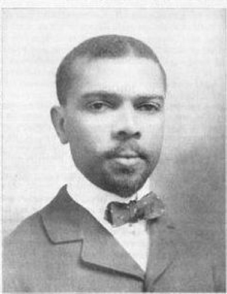 James Weldon Johnson (1871-1938).