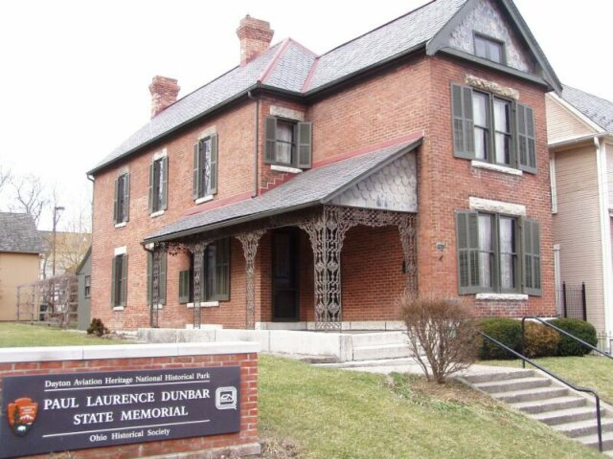 Home of Paul Laurence Dunbar in Dayton, Ohio.