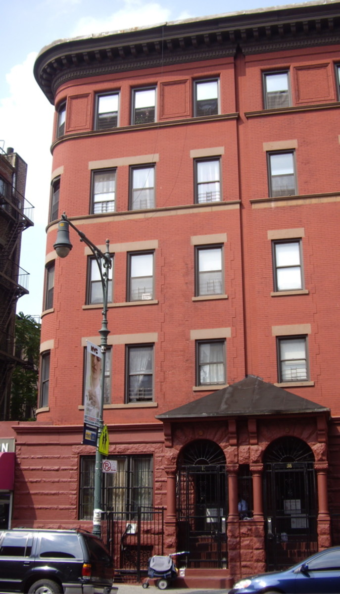 James Weldon Johnson Residence, 187 West 135th Street, Manhattan, New York City.