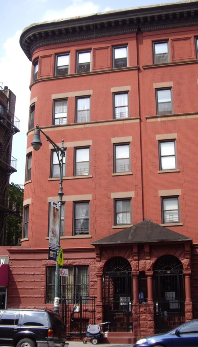 James Weldon Johnson Residence, 187 West 135th Street, Manhattan, New York City.