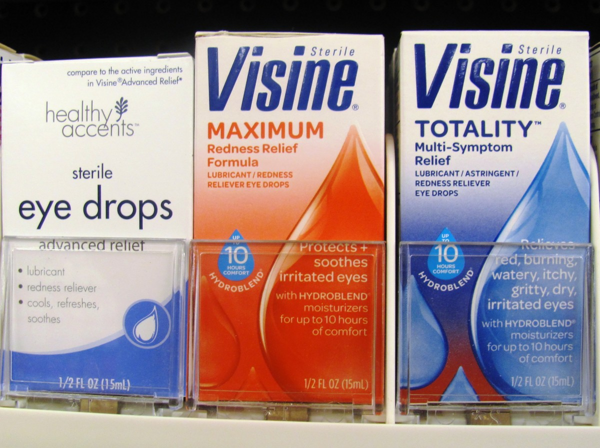 Eye drops are important for anyone who suffers from allergies.