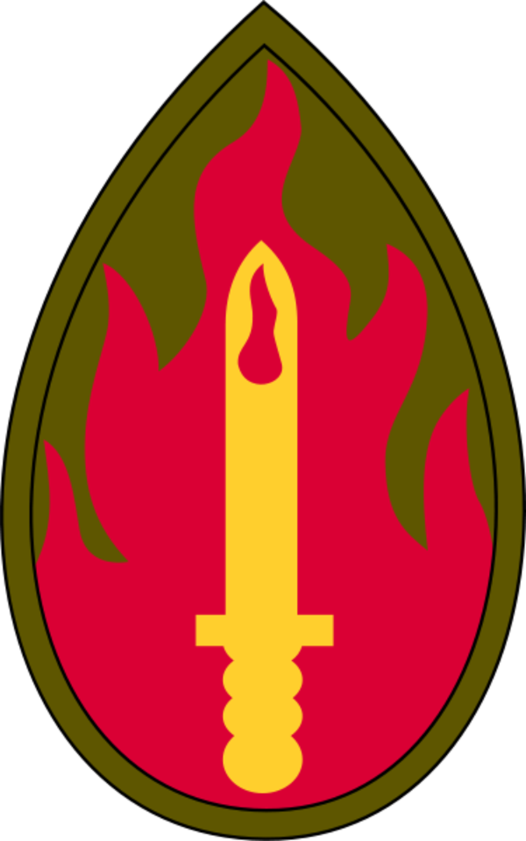 Shoulder patch of the 63rd Infantry Division