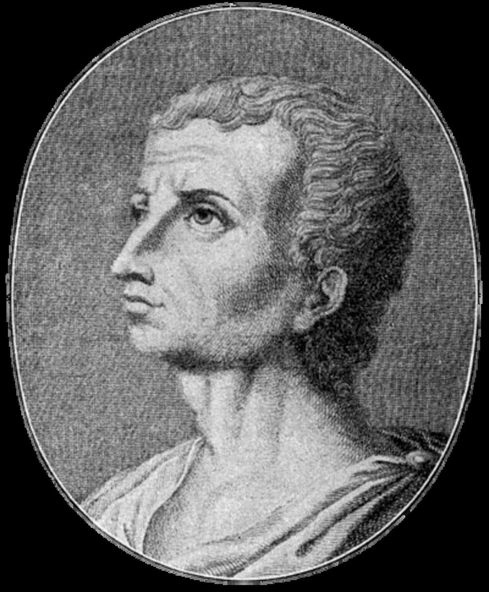 Portrait of the Roman historian Livy.