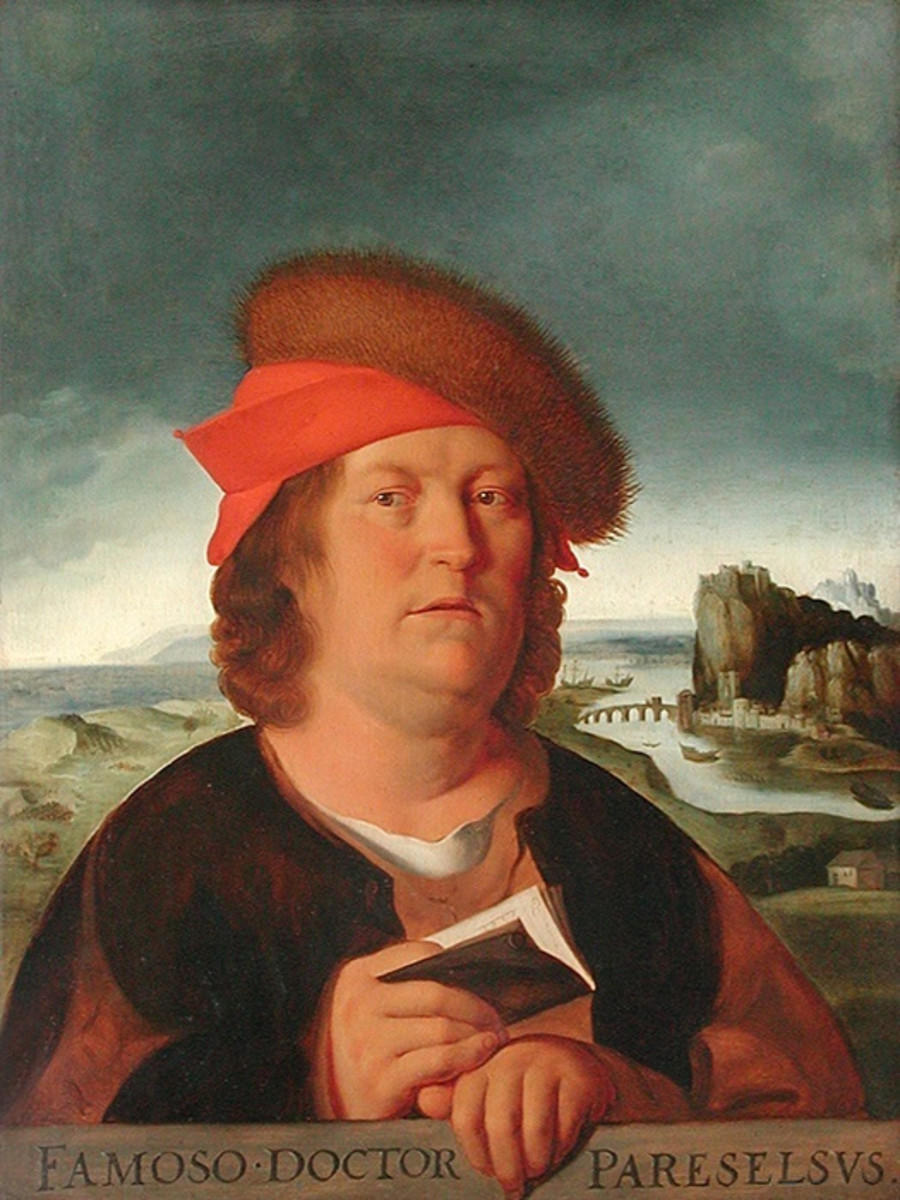 "Paracelsus also invented toxicology, the study of poisons.  ""Let no man belong to another who can belong to himself."" - Paracelsus"