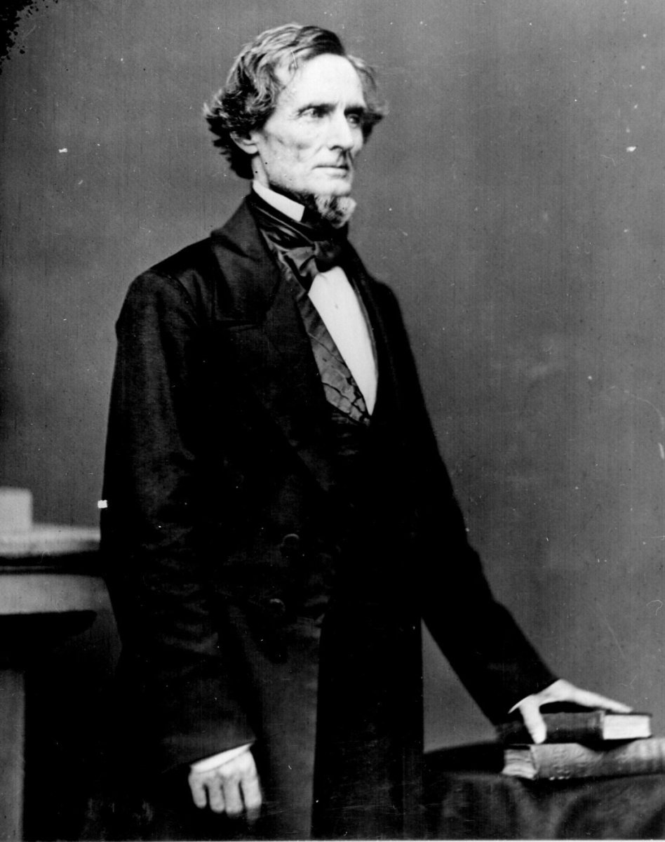Jefferson Davis, president of the Confederate States