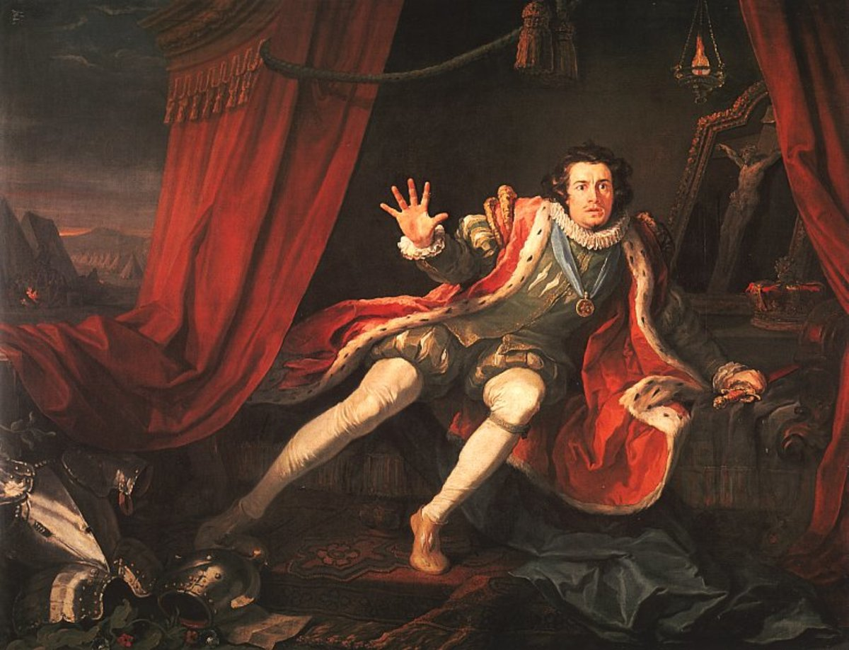 David Garrick playing Richard III by William Hogarth