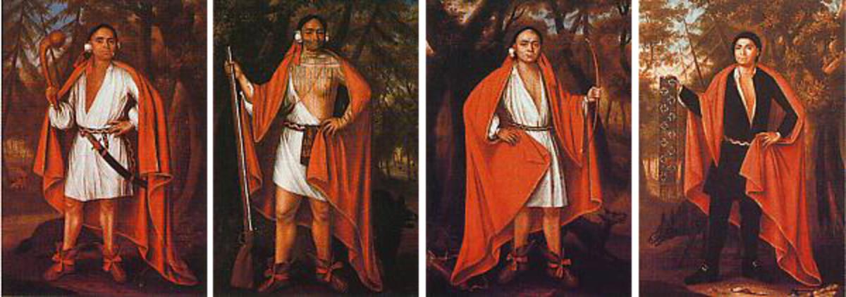 Four Mohawk Kings