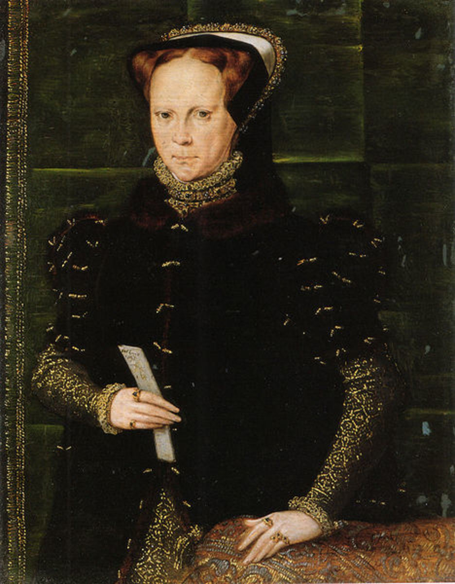 Mary I ruled for five years and left the crown to Elizabeth