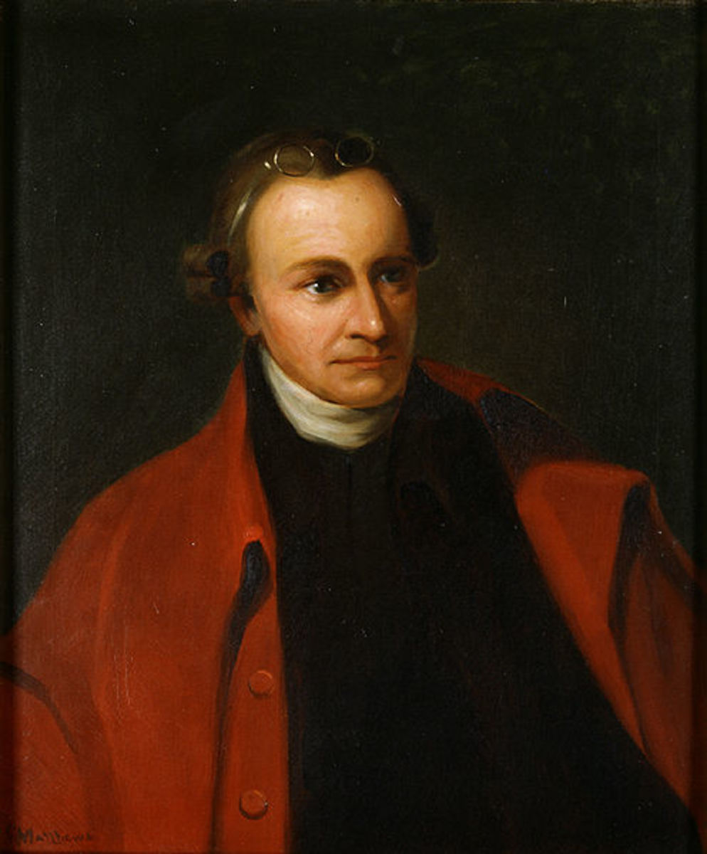 Patrick Henry: opponent of the Constitution and supporter of a very weak national government.