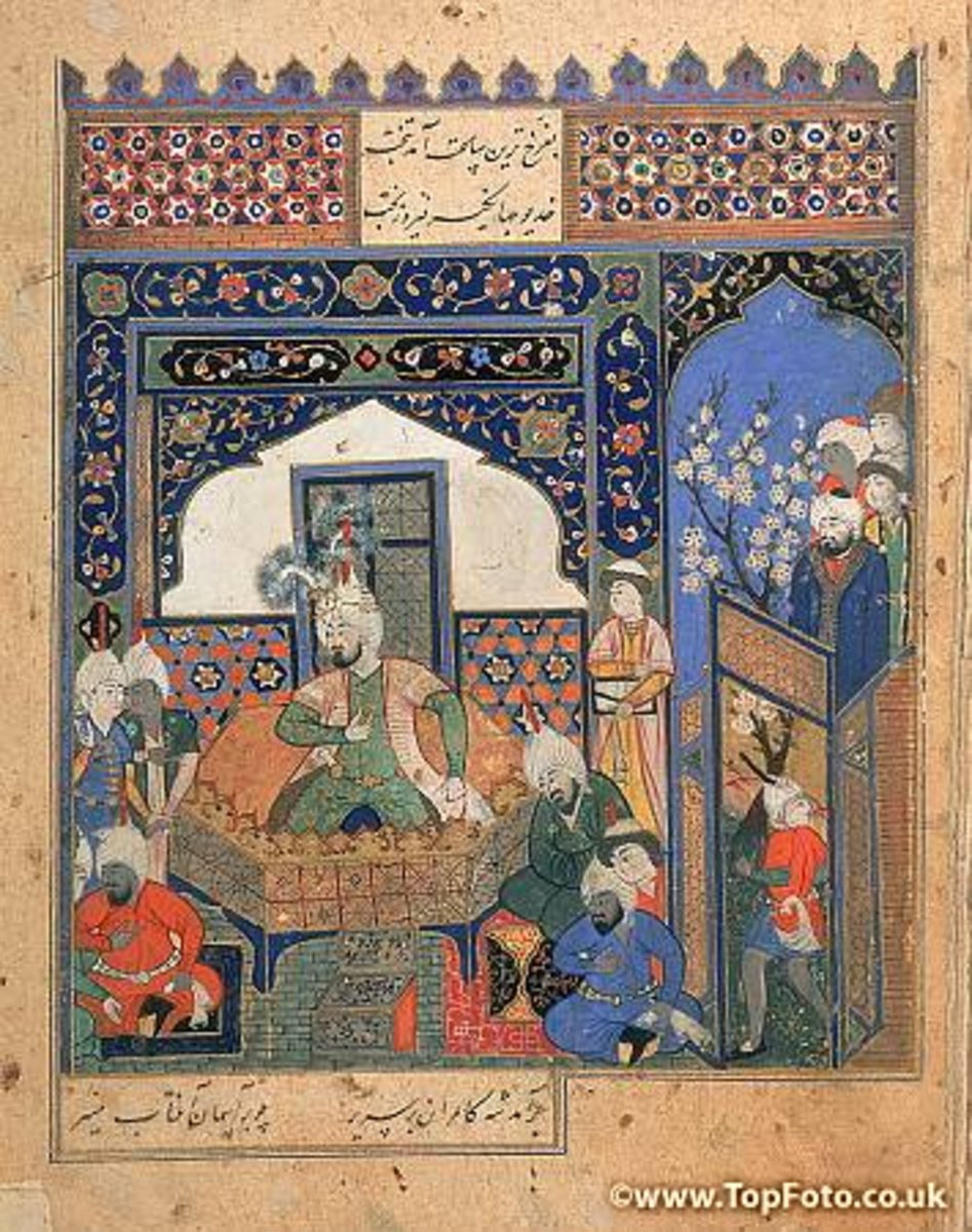 Timur is made king in northern Afghanistan.