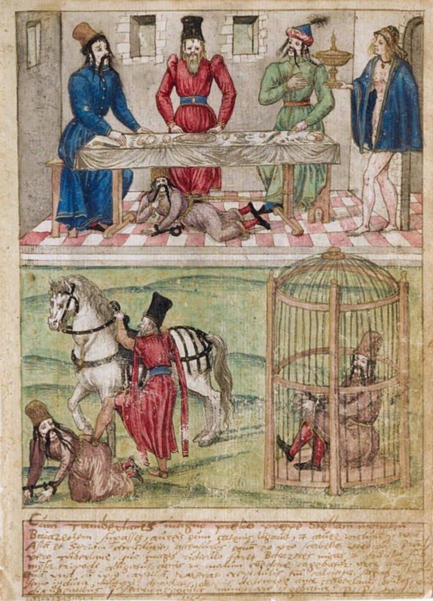Tamerlane imprisoned and humiliated the Ottoman Sultan Bayezid.
