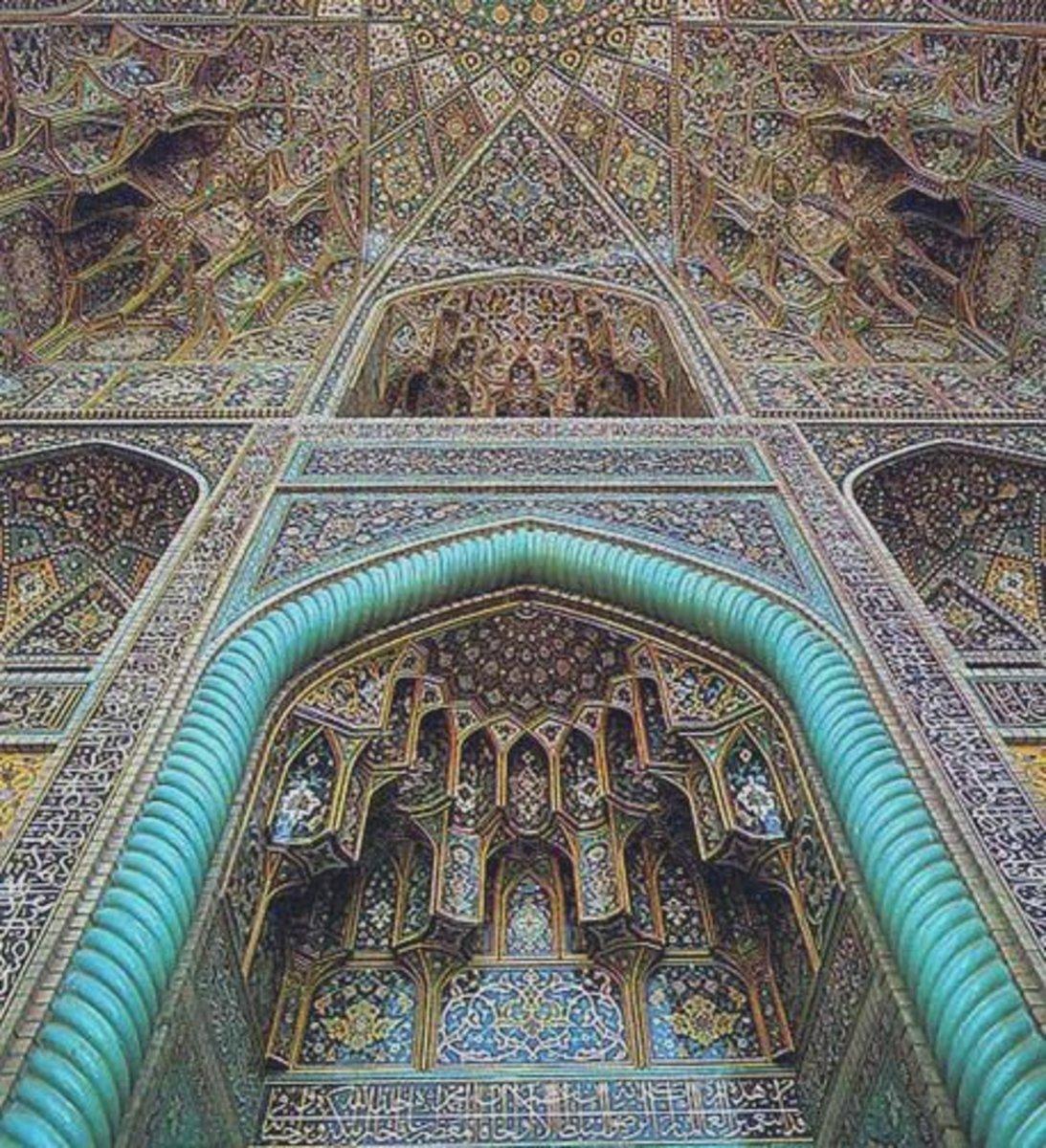 Some beautiful Timurid architecture.