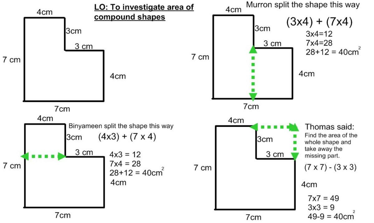 Math help what are area and perimeter how to work out the area example 1 of how to do it ccuart Image collections