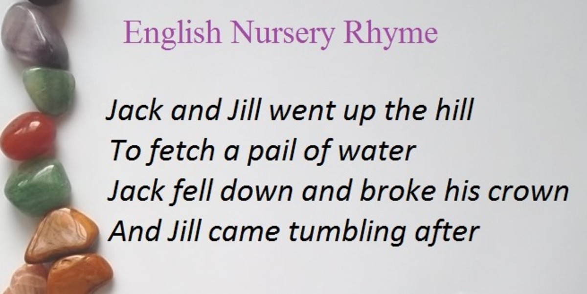 Jack & Jill: English Nursery Rhyme