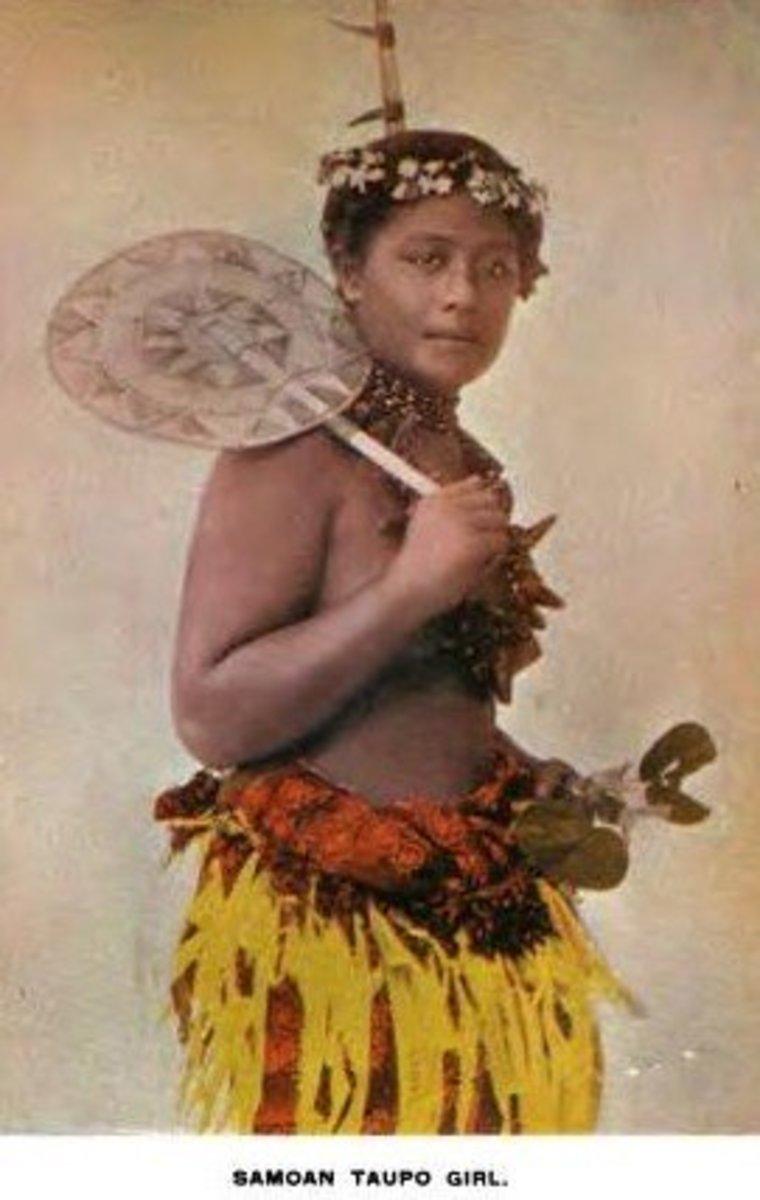 Samoan girl (1896)