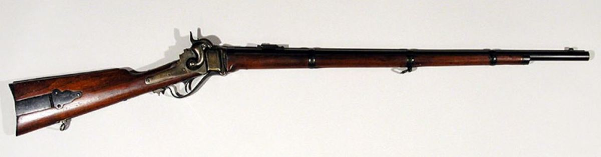 The 1859 Berdan Sharps rifle