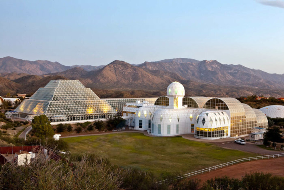 Biosphere 2, part of the University of Arizona.