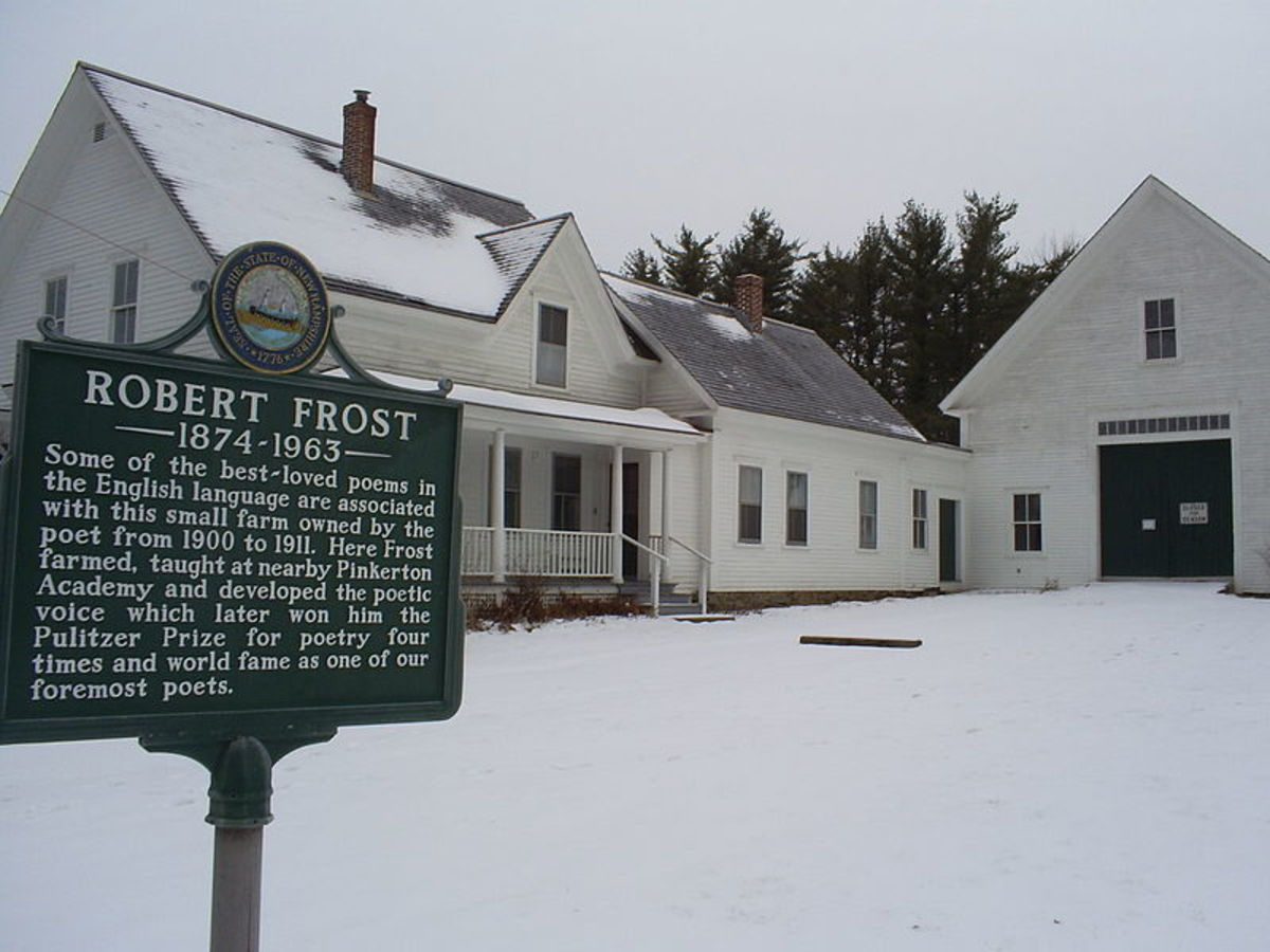 Robert Frost's farm in Derry, New Hampshire