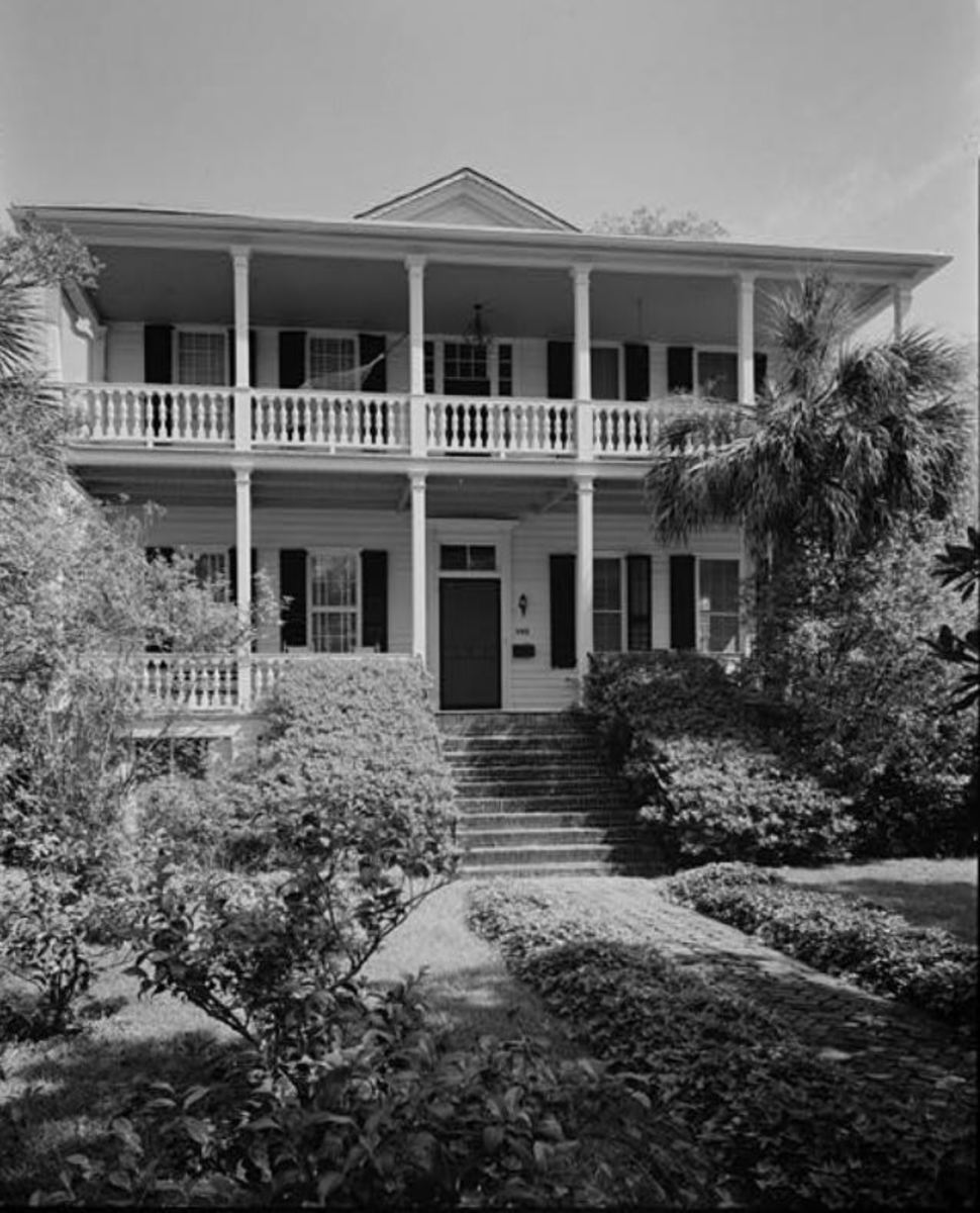 The Robert Smalls House.was added to the National Register of Historic Places in 1975.