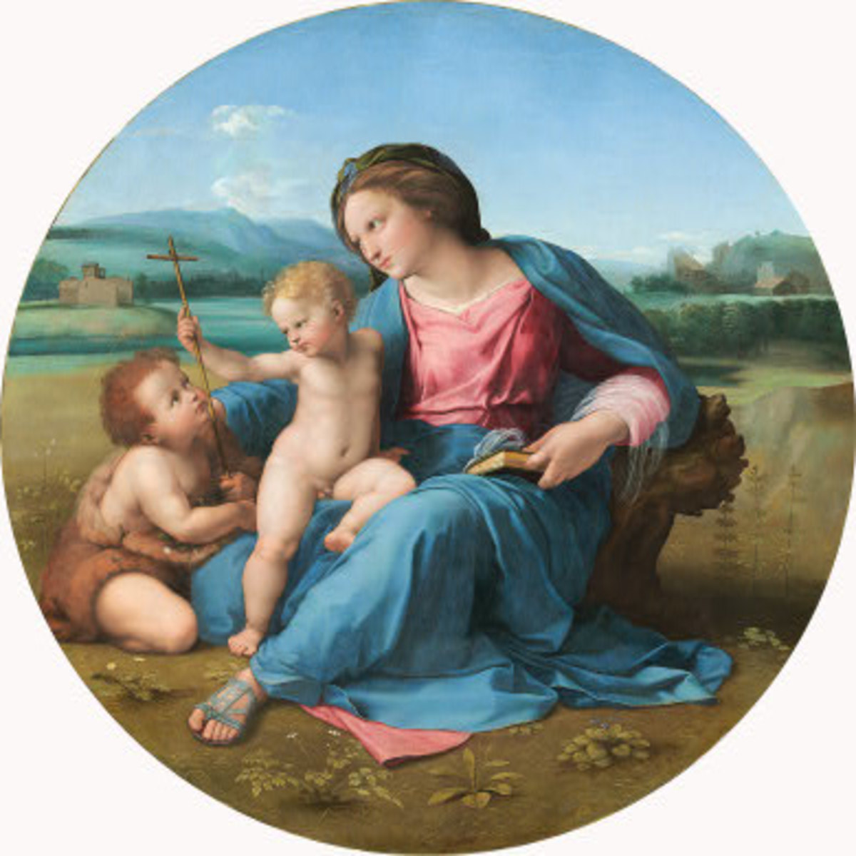 Raphael, Alba Madonna (1511), Washington National Gallery of Art