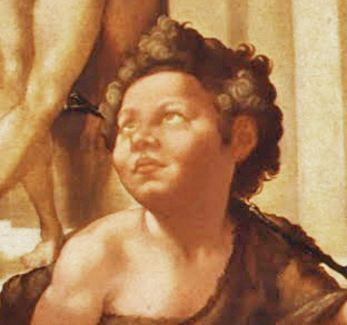 Detail of St. John the Baptist