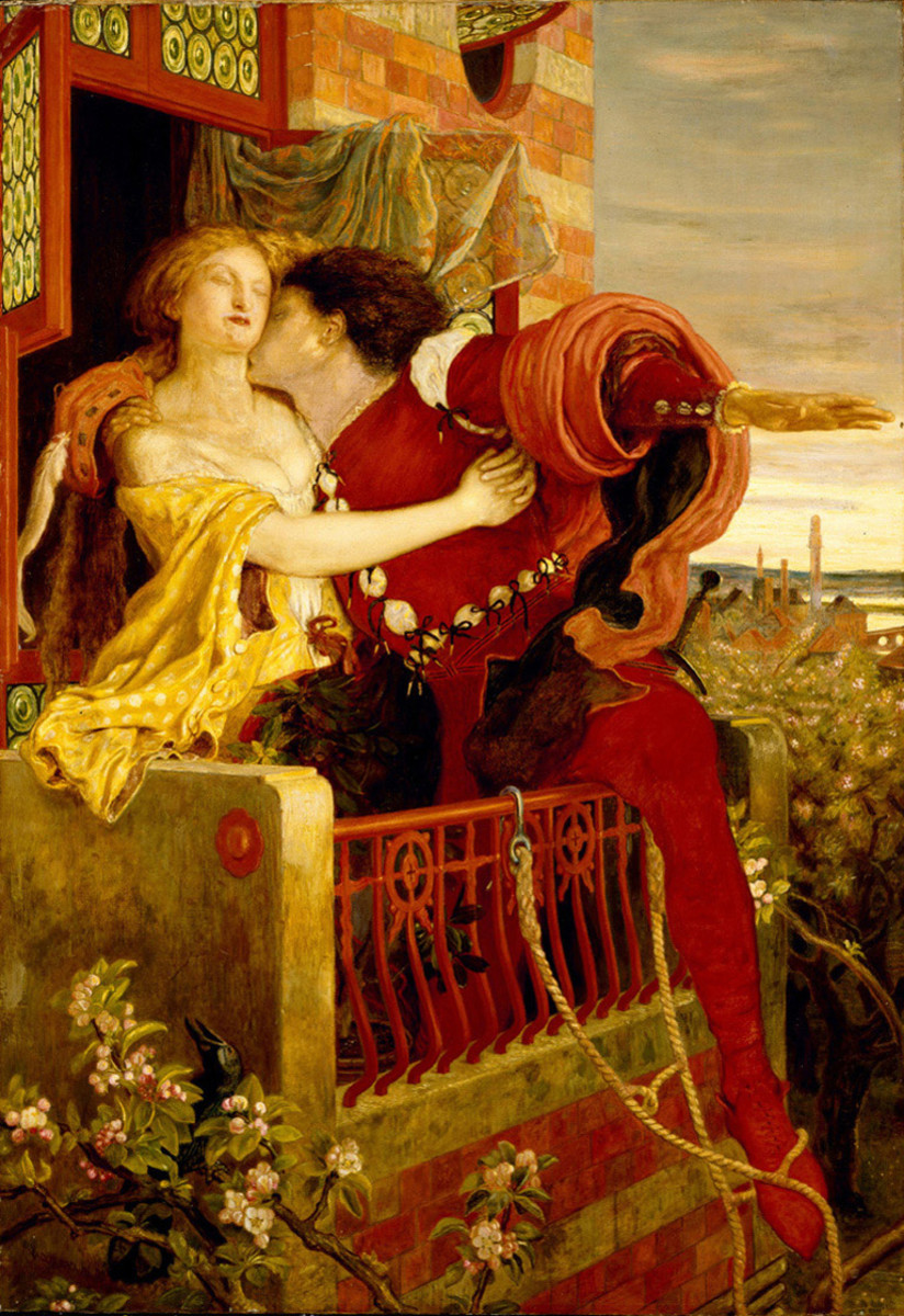 Romeo and Juliet on the Balcony