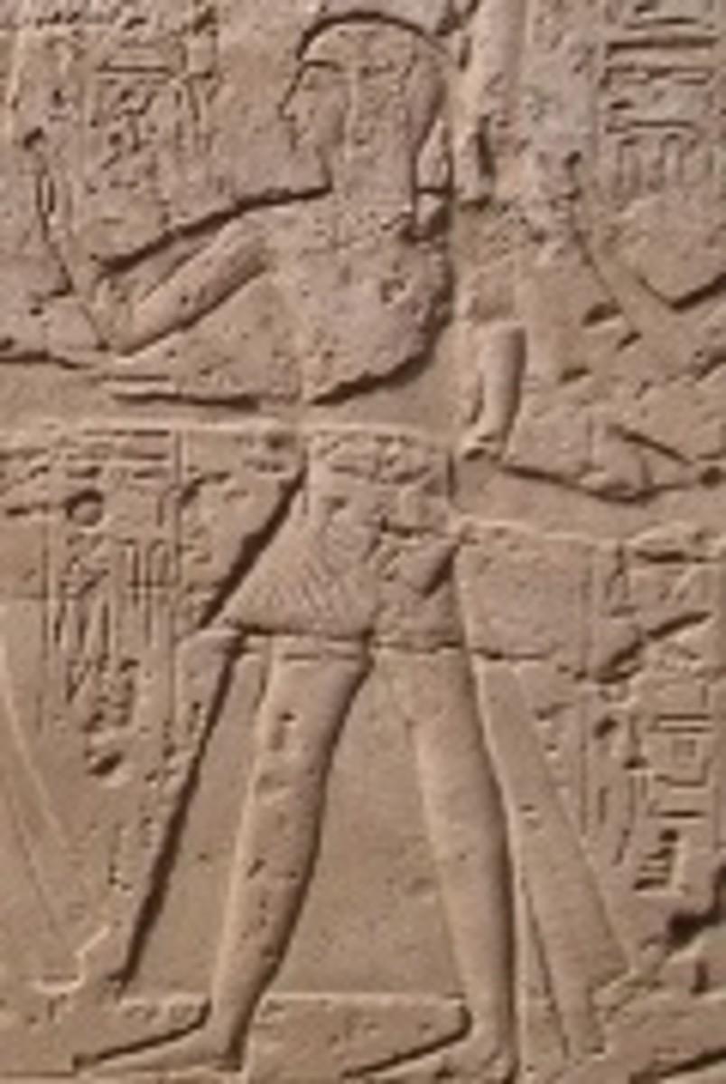 Crown Prince Ramesses at Luxor