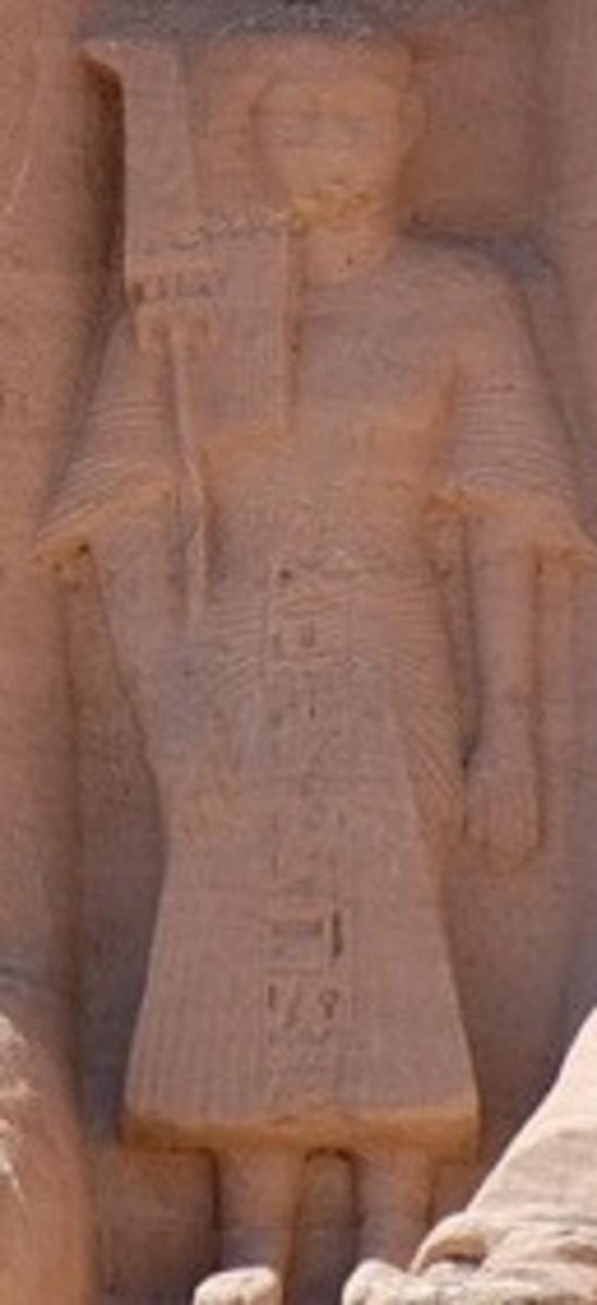 Crown Prince Amun-her-khepeshef at Abu Sibel