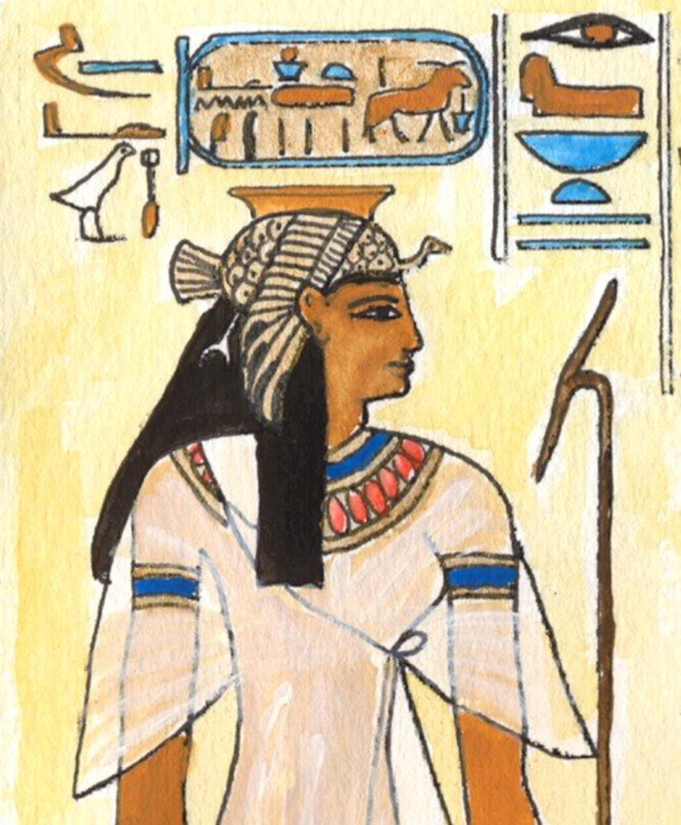 Bintanath Daughter and Great Royal Wife of Ramesses II