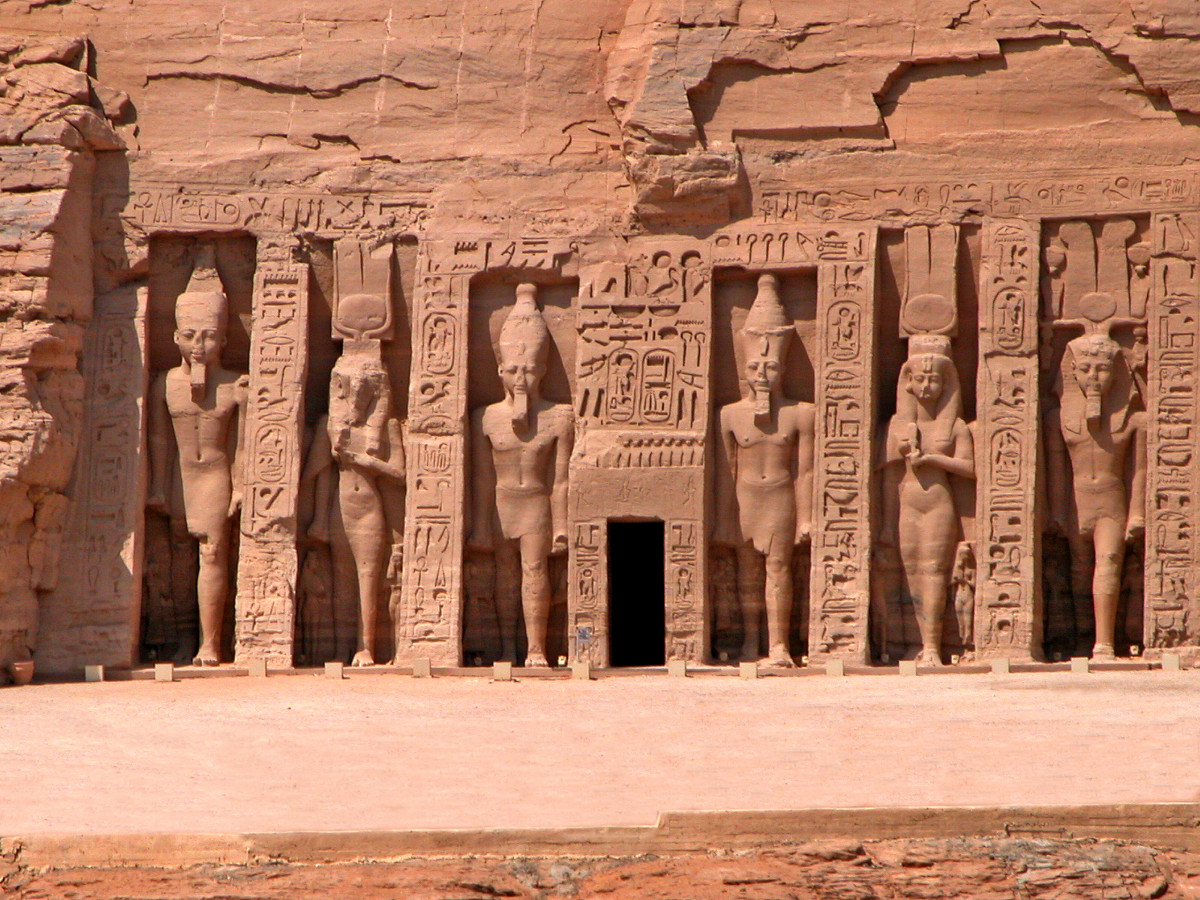 Nefertari Temple at Abu Simbel