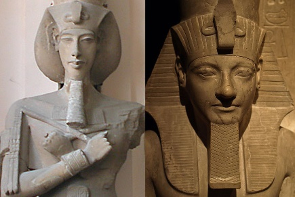 Akhenaten and Horemheb