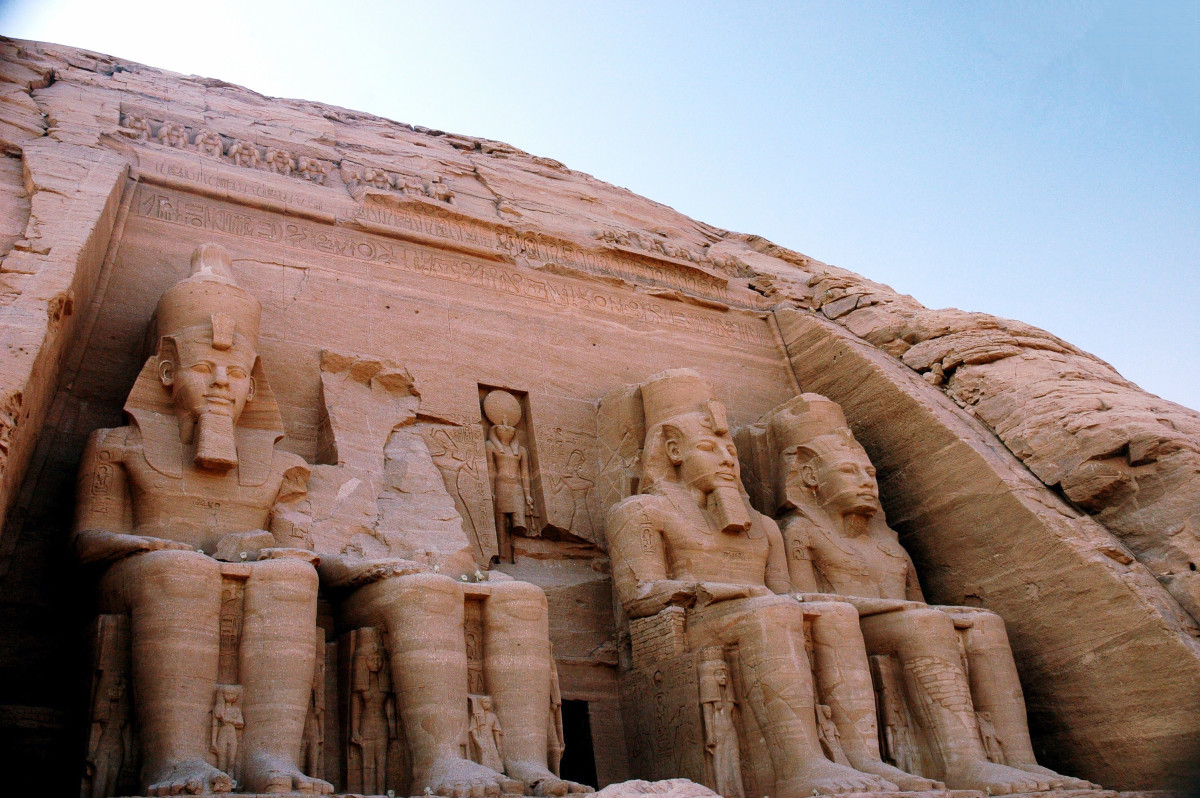 Ramesses II Temple at Abu Simbel