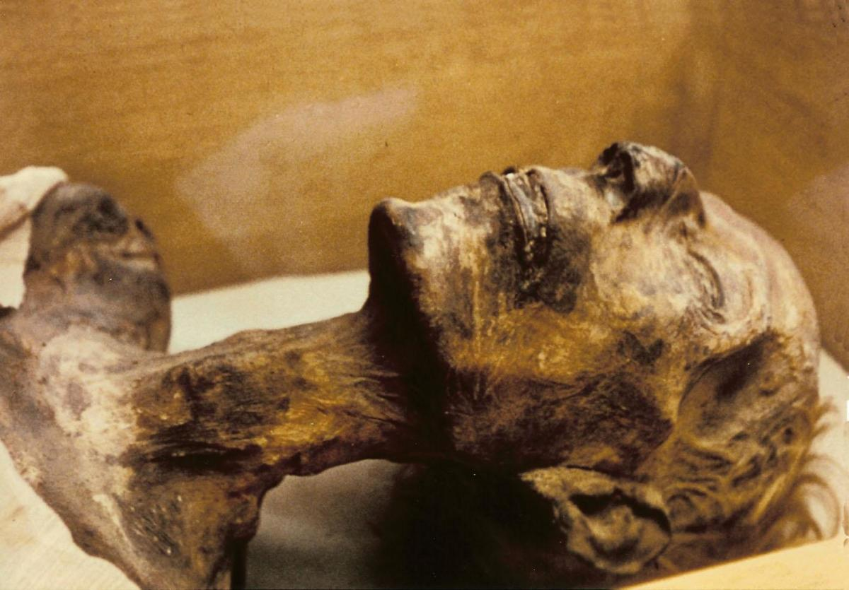Mummy of Ramesses II