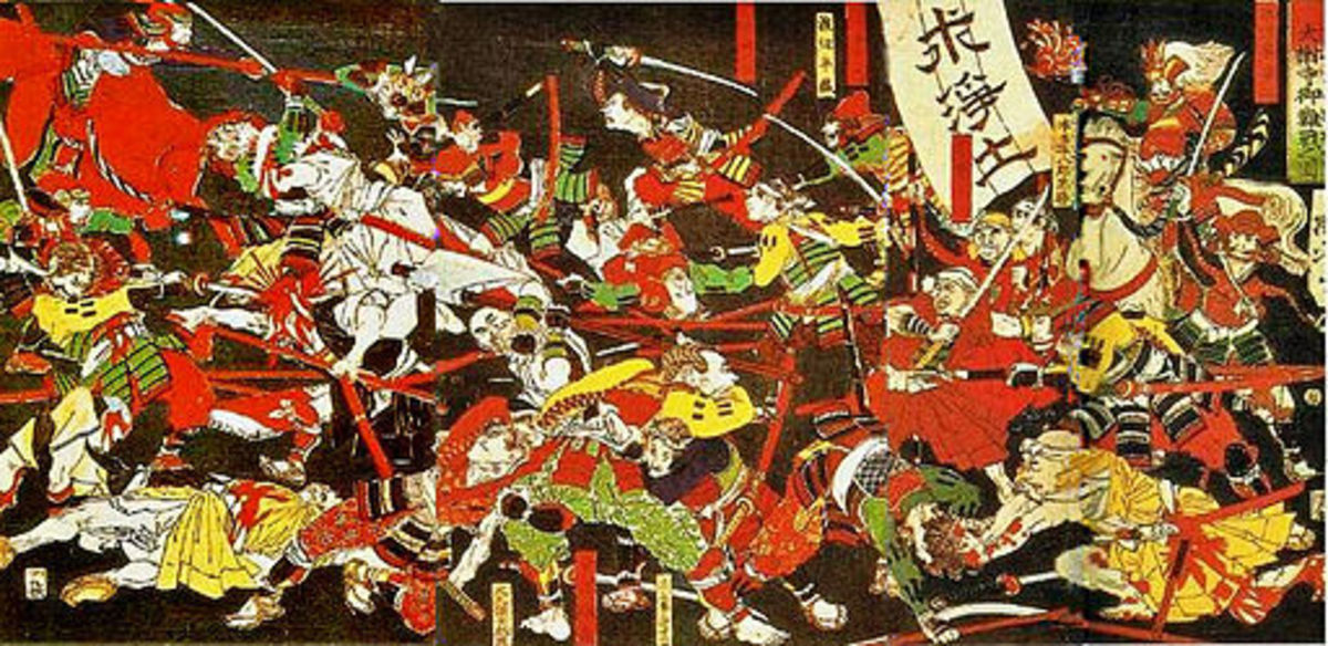 Battle of Azukizaka, 1564