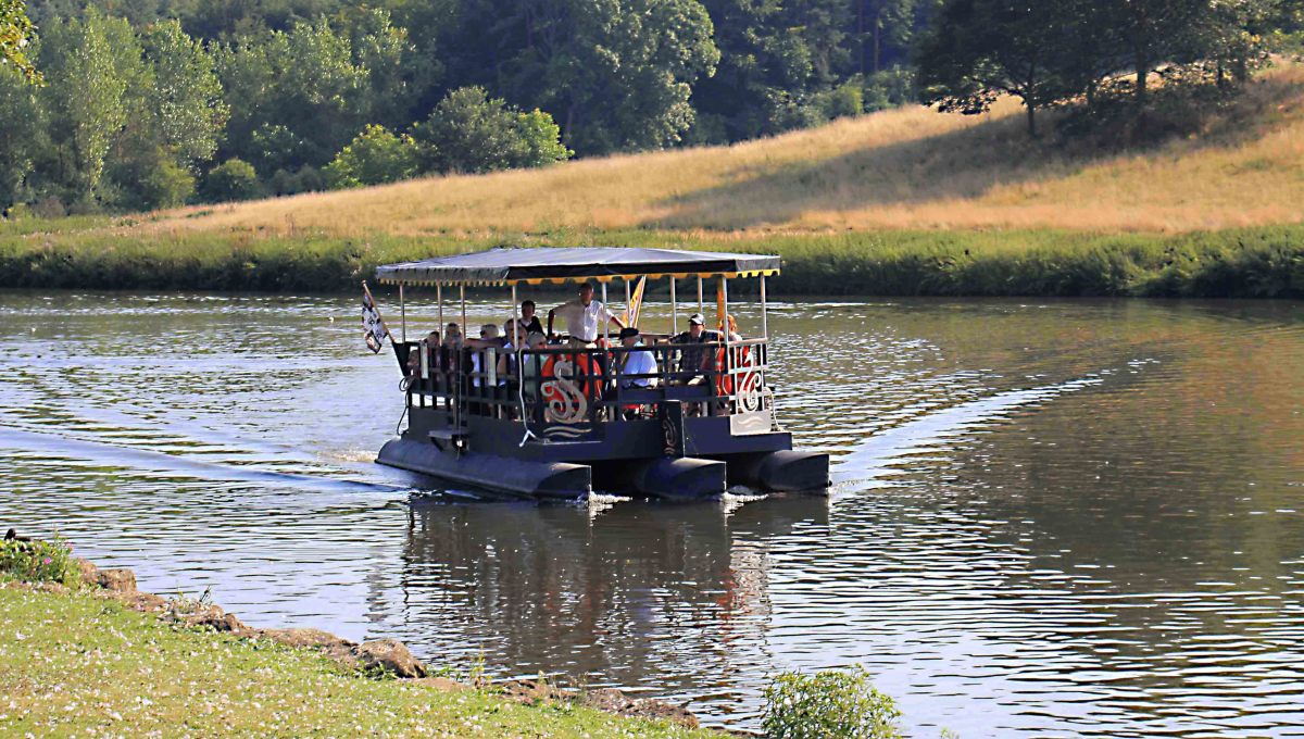 The novelty ferry on Great Water