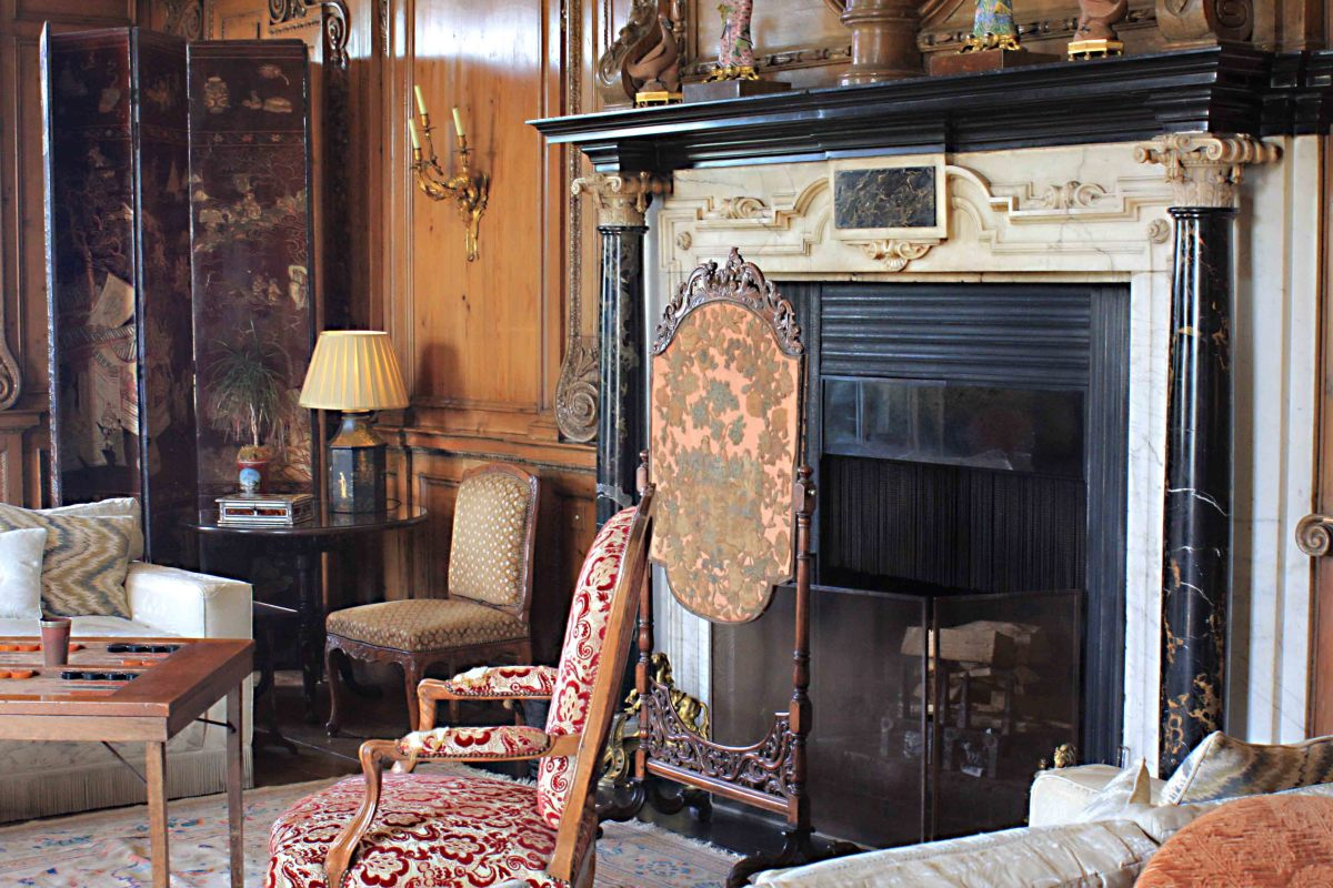 This is the Thorpe Hall Drawing Room, the principal drawing room since 1822