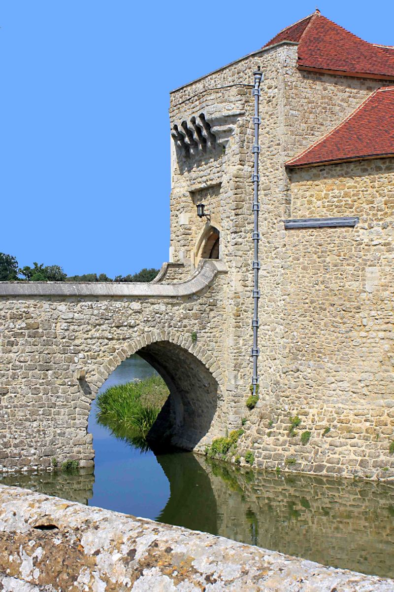 The Gatehouse - the most ancient buildings have long since gone, but parts of the gatehouse are among the oldest constructions still existing
