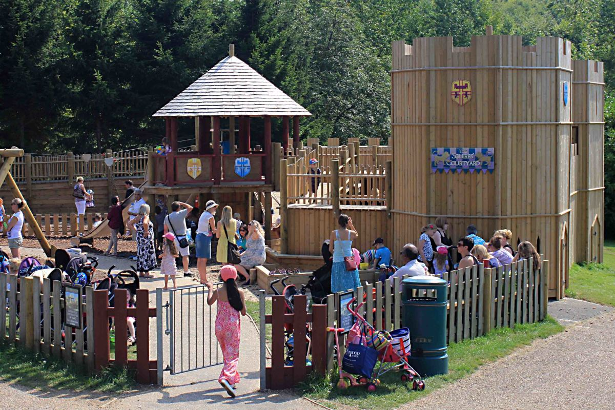 The Squires Courtyard Playground